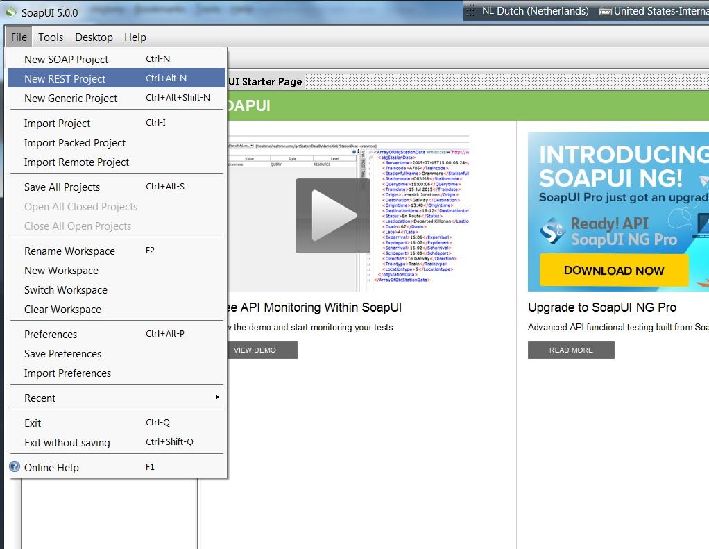 Building a restful json services using java brandsma blog c enter httplocalhost8080comjbrandsmahelloworldresthello4 as the uri and click ok baditri Images